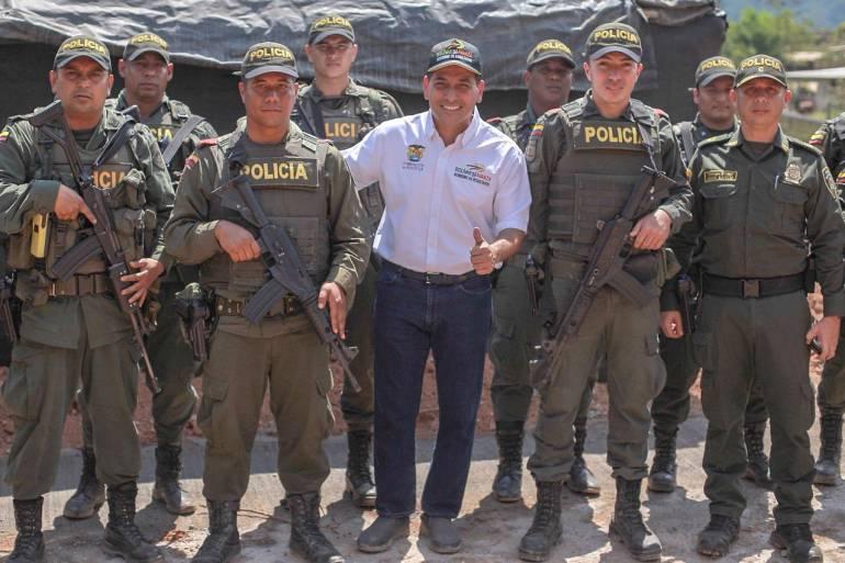 Realizan consejo de seguridad con MinInterior en el sur de Bolívar: Realizan consejo de seguridad con MinInterior en el sur de Bolívar