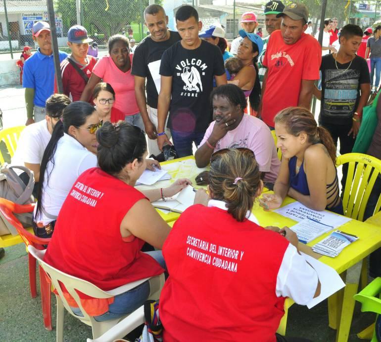 """""""Casas de Justicia Móviles"""" llegan a comunidades de Cartagena: """"Casas de Justicia Móviles"""" llegan a comunidades de Cartagena"""