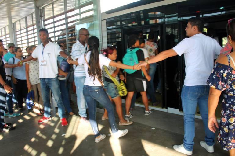 """""""Transcaribe Soy Yo"""" socializa cambios de horarios y rutas: """"Transcaribe Soy Yo"""" socializa cambios de horarios y rutas"""