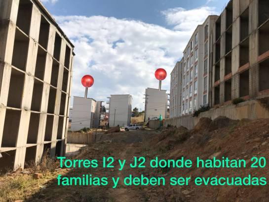 Nadie explica por qué demolerán las torres: familias que evacuarán en Tunja: Nadie explica por qué demolerán las torres: familias que evacuarán en Tunja