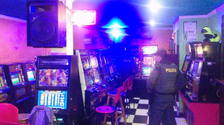 Policía y Coljuegos intervienen cuatro casinos en Cartagena: Policía y Coljuegos intervienen cuatro casinos en Cartagena