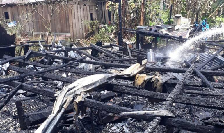 Incendio Guapi - Cauca