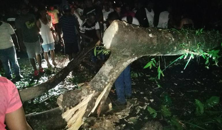 Vendavales causan emergencias en Chocó: Al menos 30 casas destechadas dejaron vendaval en Istmina, Chocó
