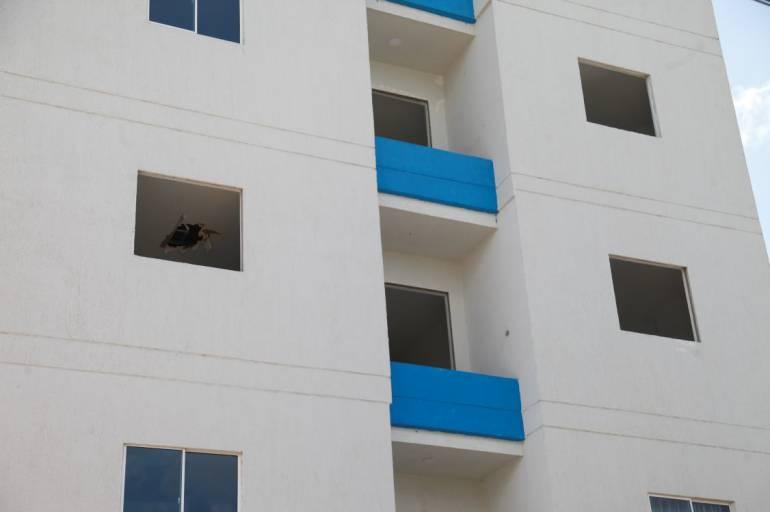 Víctimas por edificios ilegales en Cartagena reclaman mas atención