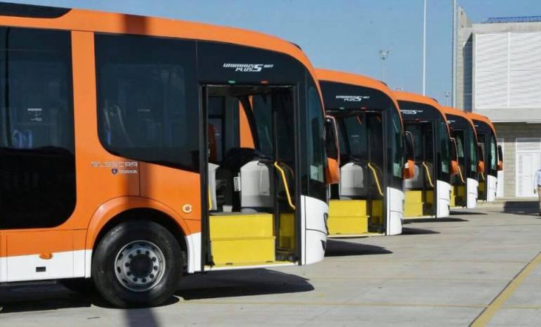 Transcaribe en Cartagena ya opera con cinco nuevas rutas: Transcaribe en Cartagena ya opera con cinco nuevas rutas