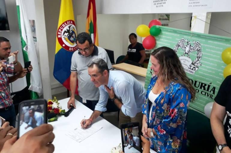 Andrés Betancourt se inscribió a las atípicas de Cartagena por ASI: Andrés Betancourt se inscribió a las atípicas de Cartagena por ASI