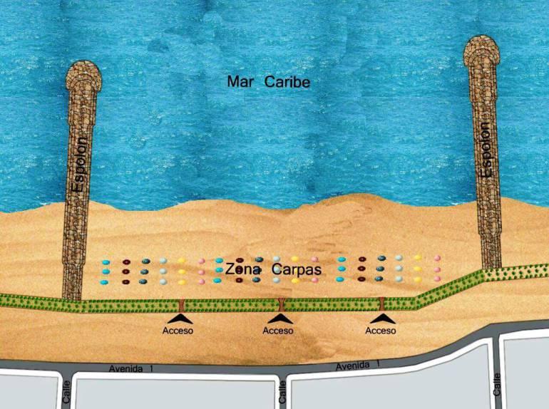 UNGR ejecutará proyecto de protección costera de Cartagena: UNGR ejecutará proyecto de protección costera de Cartagena