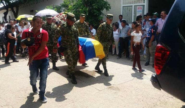Exequias militares Norte de Santander: Se cumplieron exequias de militar asesinado en Norte de Santander