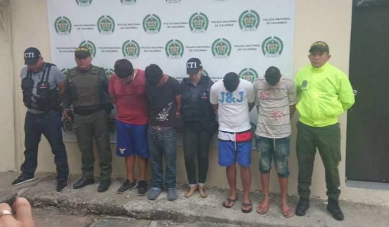 Desarticulada banda que hurtaba colegios en Ambalema, Tolima
