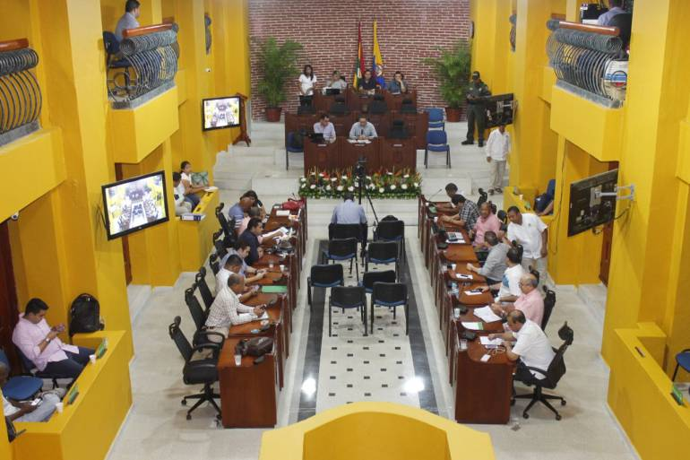 Presentan proyecto que reglamenta control político en Concejo de Cartagena: Presentan proyecto que reglamenta control político en Concejo de Cartagena