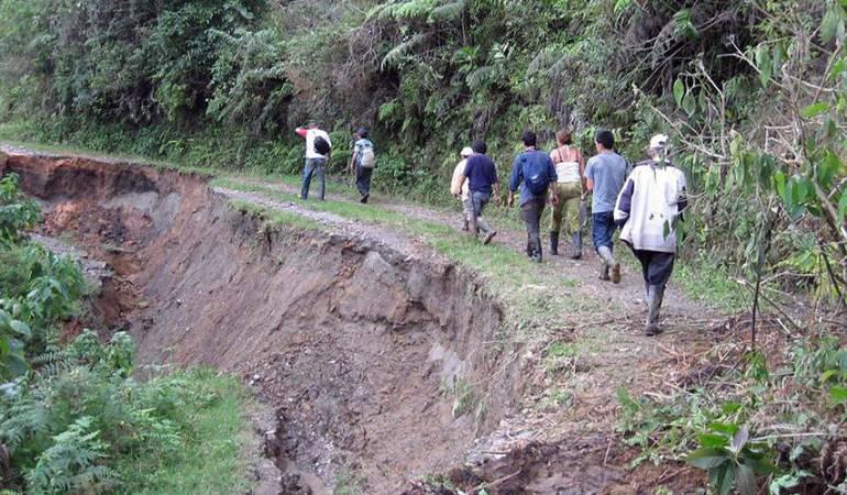 Lluvias causan emergencias en varios municipios del Tolima