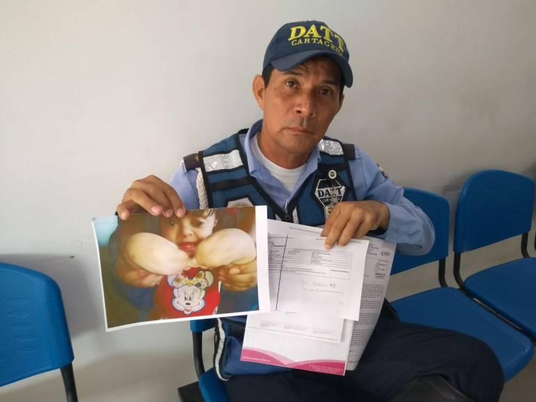 Denuncian demoras en cirugía de niña con síndrome de Apert en Cartagena: Denuncian demoras en cirugía de niña con síndrome de Apert en Cartagena