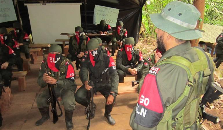 Ejército de Colombia abate a 10 guerrilleros del ELN en bombardeo
