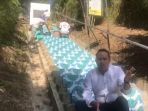 En el Alto de la Cruz en Salento invierten 417 millones de pesos
