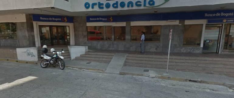Roban $100 millones del banco de Bogotá en Barranquilla