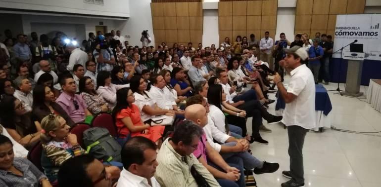 """Pido disculpas por tener media Barranquilla paralizada"": alcalde Char"