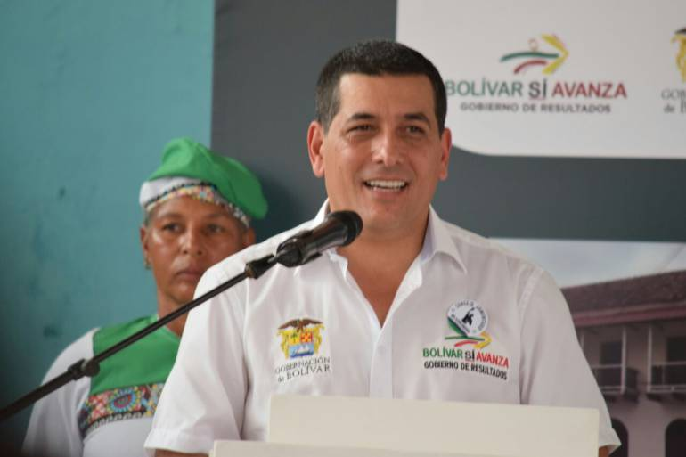 Gobernador de Bolívar entregó rendición de cuentas del 2017: Gobernador de Bolívar entregó rendición de cuentas del 2017