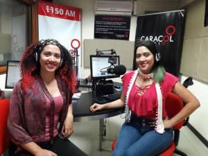 las hermanas Marta y Laura Castrillón Betancur integrantes del Dueto Murmullo y Canción