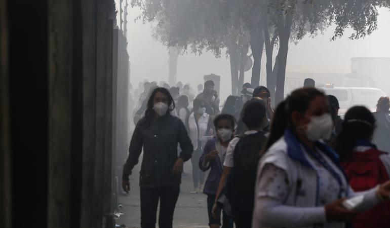 Medellín en alerta por altos niveles de contaminación