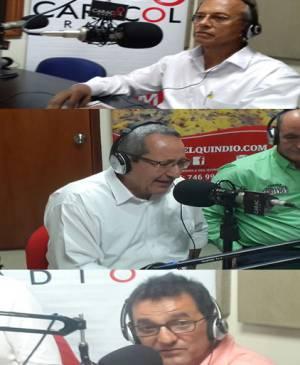 Coalición Colombia: Polo Democrático, Alianza Verde y Compromiso Ciudadano  Gustavo Chacón  Óscar Iván Sabogal  Vicente Young