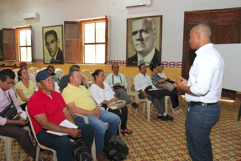 Gobernación de Bolívar continúa jornadas de asistencia técnica con rectores