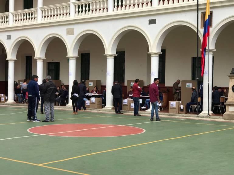 Poca asistencia de votantes a elecciones legislativas en Boyacá