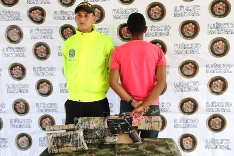 Capturado guerrillero del ELN en zona rural de Norosí Bolívar Capturado guerrillero del ELN en zona rural de Norosí Bolívar