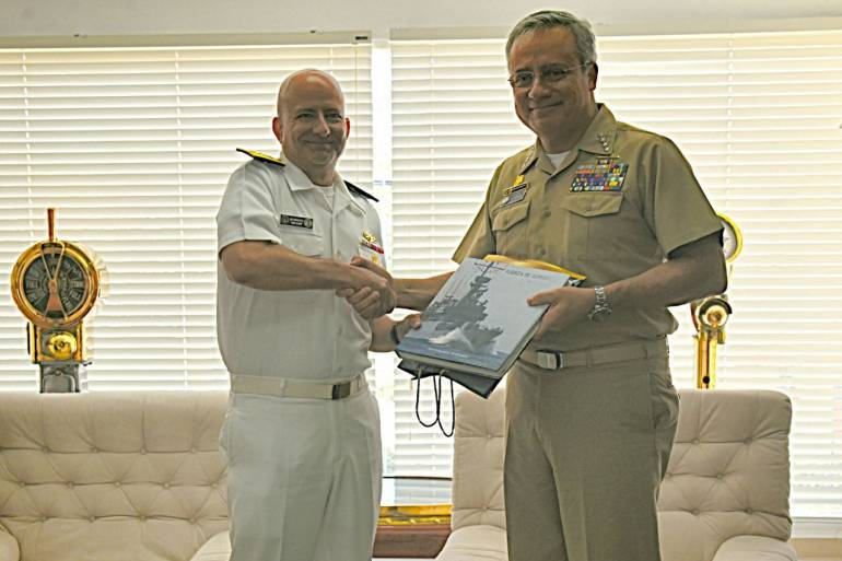 Armada Nacional firma acuerdo de inteligencia con Estados Unidos: Armada Nacional firma acuerdo de inteligencia con Estados Unidos