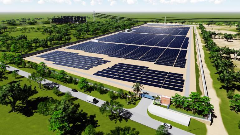 Celsia inicia construcción de granja solar en Bolívar: Celsia inicia construcción de granja solar en Bolívar