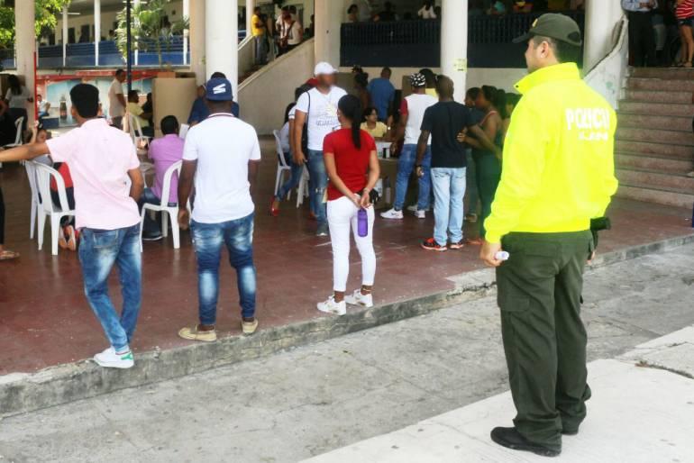 77 personas capturadas en 46 puestos de votación en Cartagena: 77 personas capturadas en 46 puestos de votación en Cartagena