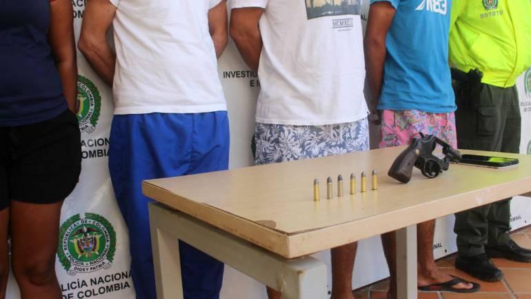 Policía de Cartagena despliega #pactoporlavida capturando cuatro personas: Policía de Cartagena despliega #pactoporlavida capturando cuatro personas