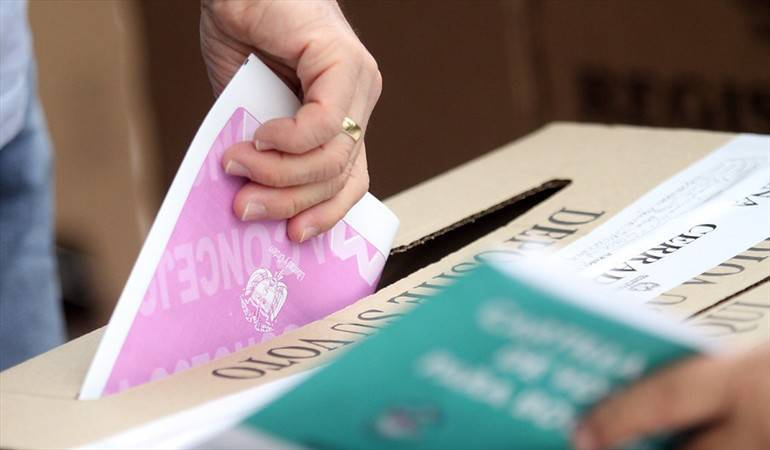 Elecciones: Entre jueves y viernes termina proceso de escrutinio en Quindío