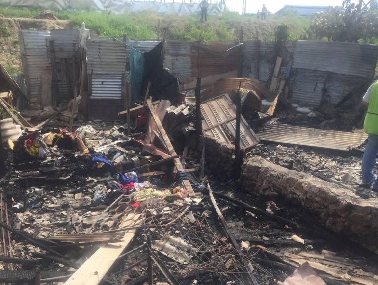 Hombre incendia su vivienda al no recibir sexo