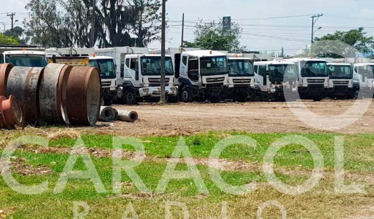 Venta de camiones de basura: En tres meses estará el peritaje para venta de camiones de Aguas de Bogotá