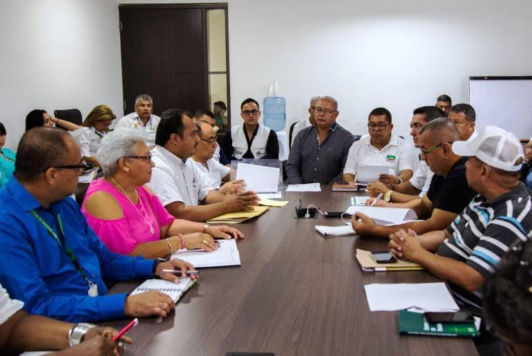 Gobernación y Sindicatos de Bolívar instalan mesa de negociación: Gobernación y Sindicatos de Bolívar instalan mesa de negociación
