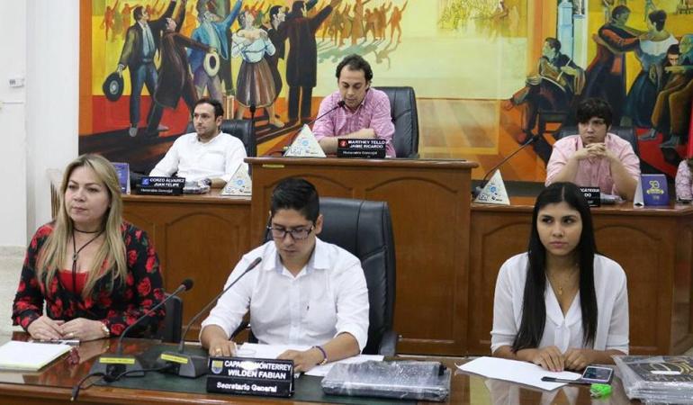 Mesa directiva del concejo de Cúcuta