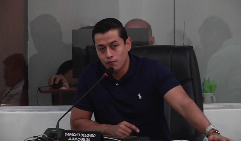 Juan Capacho concejal de Cúcuta por el Centro Democrático