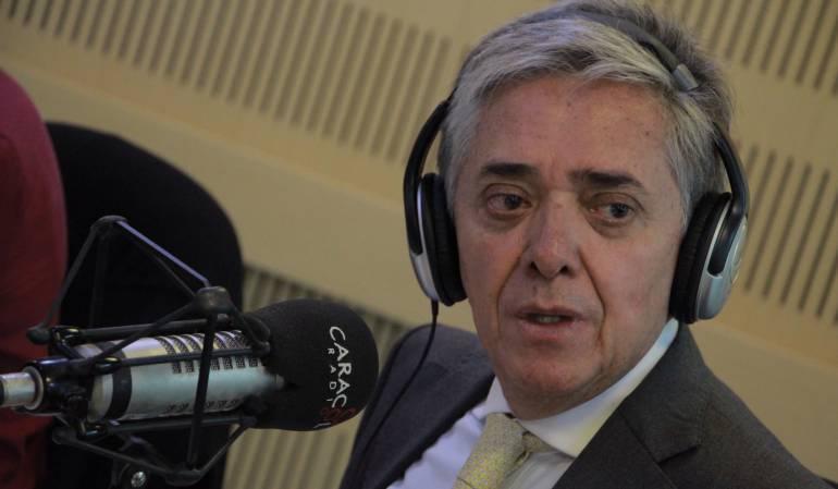Germán Cardona, ministro de Transporte.