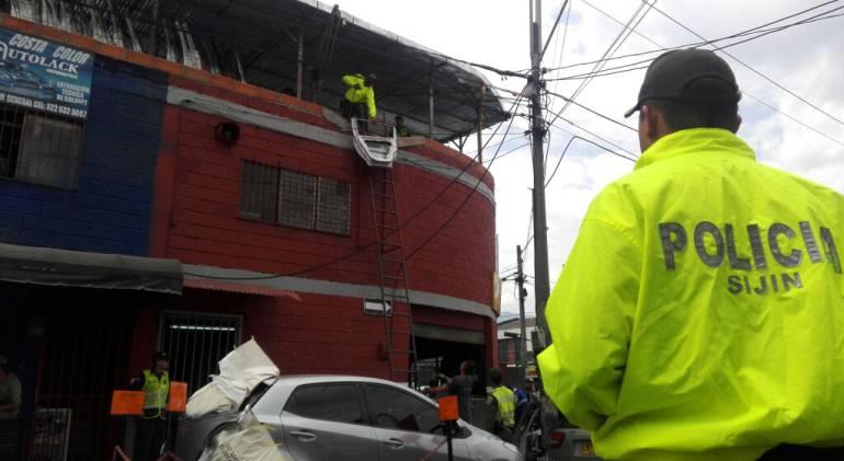 Gisgantesco, Medellín, robo, autopartes: Gigantesco operativo en Medellín contra el robo de autopartes