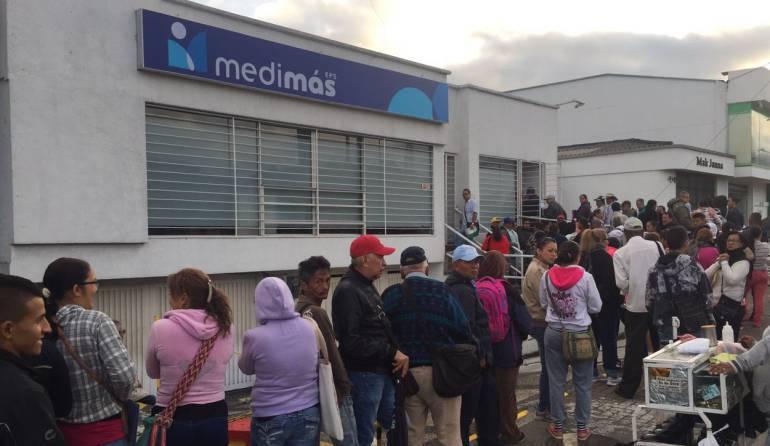 40 trabajadores de la EPS Medimás amanecieron sin trabajo