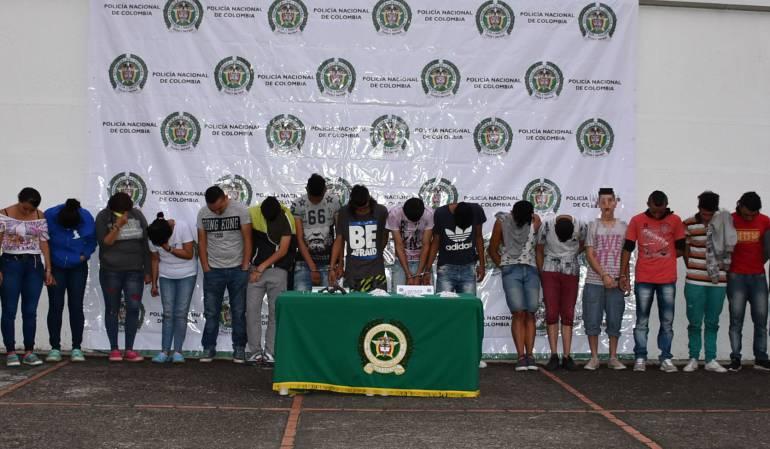 """Drogas en Quindío: En Quindío la policía desarticuló la banda delincuencial """"Los Cholos"""""""