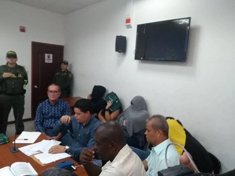 Legalizan captura de los 5 detenidos en sede política de Aida Merlano