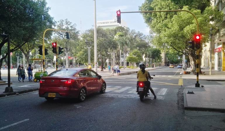 Semáforos en Cúcuta