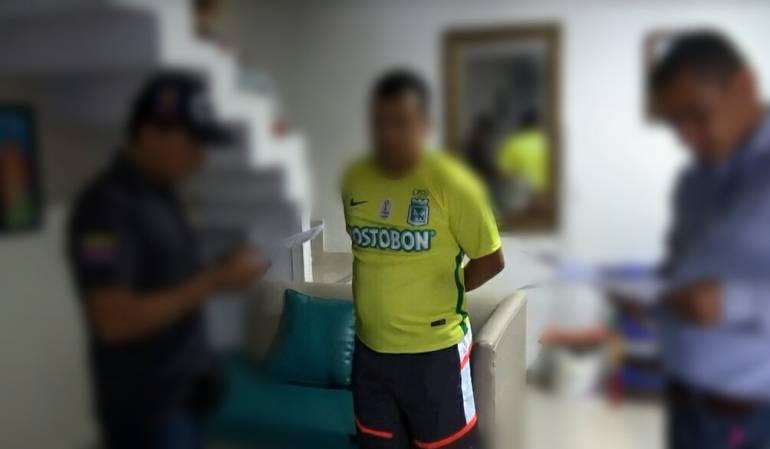 Capturado presunto reclutador de jóvenes de Soacha