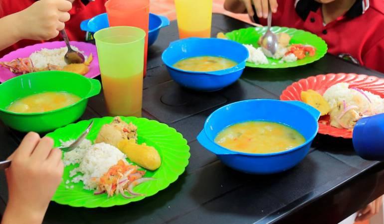 Alimentación escolar PAE