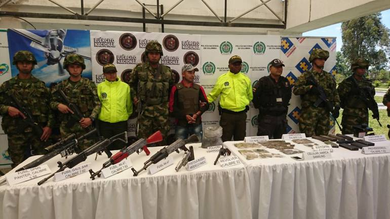 ELN Cauca: Capturado quinto cabecilla del frente José María Becerra del Eln