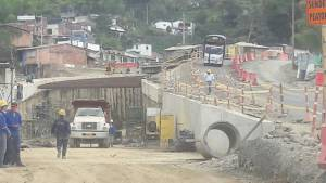 Las obras hacen parte del cruce de la cordillera central Túnel de la Línea