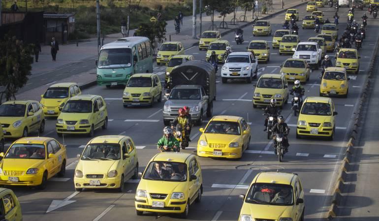El 28 de marzo inicia operación de taxis inteligentes en Bogotá