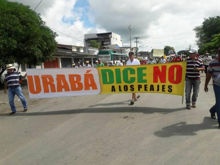 Ley de garantías tiene parada construcción de peajes en Urabá