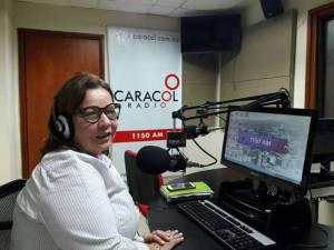 Betty Martínez Salazar coordinadora de la MOE, Quindío